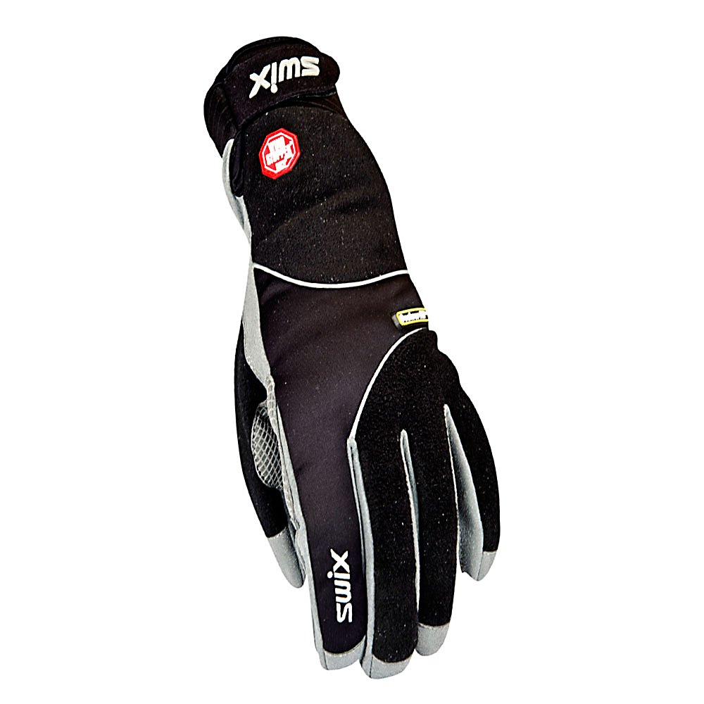 Ski Swix Gore Spectrum Womens Gloves - The Swix Gore Spectrum Womens Gloves are great for keeping your hands warm and dry. Constructed with Gore Windstopper Softshell these gloves are waterproof and windproof. The EPTEE lining features breathable material with minimal stretch for rugged texture and durability. Hydra-Vent is a 3 layer membrane that keeps your hands dry and comfortable in the most severe conditions. If you are looking for a glove to keep you warm, dry and comfortable the Swix Gore Spectrum Womens Gloves are for you. . Removable Liner: No, Material: Gore Windstopper Fleece, Warranty: One Year, Battery Heated: No, Race: No, Type: Glove, Use: Ski/Snowboard, Wristguards: No, Outer Material: Softshell, Waterproof: Yes, Breathable: Yes, Cuff Style: Under the cuff, Down Filled: No, Touch Screen Capable: No, Model Year: 2013, Product ID: 285232, Pipe Glove: No - $47.95