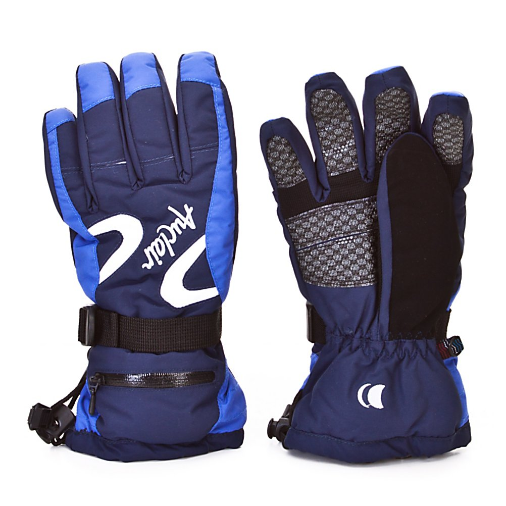 Ski Auclair Double Swoosh Womens Ski Gloves - The Auclair Double Swoosh Womens Ski Gloves are super comfy and will keep your hands feeling warm and dry on the coldest days of the winter. Designed with Aqua Stop Inserts, these gloves will protect your hands from any exterior moisture trying to seep its way inside. You'll have Thinsulate Insulation inside these gloves to help keep your body heat trapped inside so you don't get chilly fingers. They are made with a breathable baby-soft fleece lining so as your hands sweat they moisture will wick away leaving you with dry and warm hands. The exterior offers a lightweight nylon fabric and leather palms to ensure durability and flexibility. If you want a soft and cozy glove that will keep your hands feeling good all day on the mountain then you'll want to wear these Auclair Double Swoosh Womens Ski Gloves. . Removable Liner: No, Race: No, Type: Glove, Use: Ski/Snowboard, Wristguards: No, Outer Material: Nylon, Waterproof: Yes, Breathable: Yes, Pipe Glove: No, Model Year: 2010, Product ID: 285504, Down Filled: No, Cuff Style: Over the cuff, Battery Heated: No, Warranty: Other, Material: 100% Nylon - $24.95