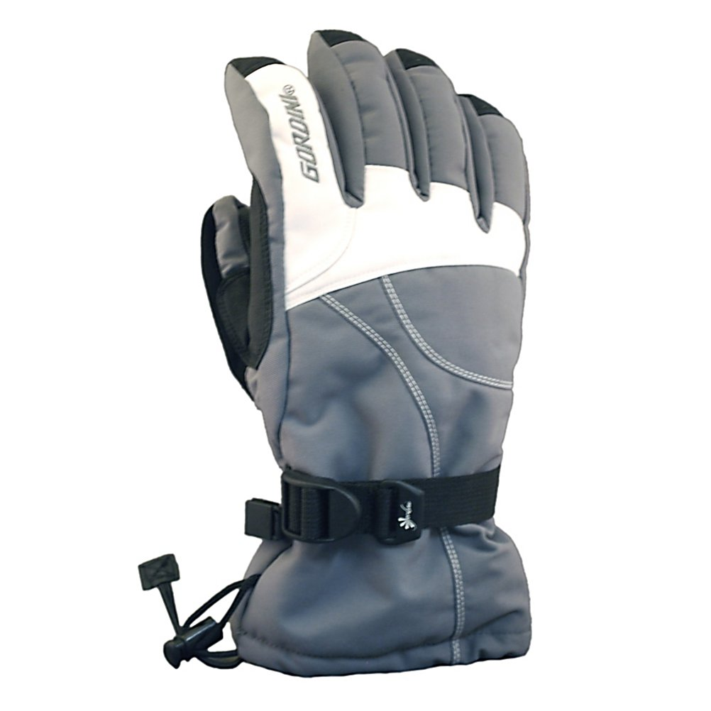 Ski Gordini Aquabloc Down Gauntlet II Womens Gloves - How do warm and comfy hands in near-zero temperatures sound? Well, with the Gordini Aquabloc Down Gauntlet II Womens Ski Gloves you'll be protected from the frigid winter temperatures with heavy denier fabrics with 3 later thermal ply, Naturaloft and Megaloft. The exterior materials are waterproof, windproof and breathable and the Naturaloft Insulation is lightweight and not bulky so you'll remain very comfortable all day. The Hydrowick Microdenier lines the interior to help absorb moisture in the glove and the Aquabloc seam-sealed insert makes your gloves ultra breathable, waterproof and windproof so the sweat and moisture inside can be evaporated towards the exterior quickly. Aquabloc is exclusively engineered for handwear, a technology that allows moisture accumulated from within the glove to escape and provide breathability and enhanced warmth and comfort. The Gauntlet Cinch Closure tightens up so you don't have any exterior precipitation from entering and so heat doesn't escape. For comfort, warmth and dry hands go with the reliable Gordini Aquabloc Down Gauntlet II Womens Ski Gloves. Features: Hydrowick Microdenier Lining, Gauntlet Cinch Closure. Removable Liner: No, Material: Heavy Denier Fabric with 3 Layer Thermal Ply Fabrics, Warranty: One Year, Battery Heated: No, Race: No, Type: Glove, Use: Ski/Snowboard, Wristguards: No, Outer Material: Nylon, Waterproof: Yes, Breathable: Yes, Pipe Glove: No, Cuff Style: Over the cuff, Down Filled: Yes, Touch Screen Capable: No, - $50.00