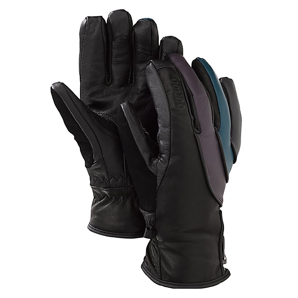 Snowboard Burton Veda Womens Gloves - The Burton Veda Snowboard Gloves will keep your hands comfortable and warm even when the temperatures at below the zero degree mark. Designed with 3M Thinsulate, you'll have a non-bulky insulation that is breathable and water-resistant so that you can toasty warm hands on those coldest of cold days. Made with GORE-TEX, this waterproof and breathable membrane is lightweight and will help keep your hands dry by preventing any precipitation from seeping while also having enough breathability to allow some sweat to be removed and ensuring warmer hands. A Gnar Guard Leather Shell is also waterproof and breathable while remaining very durable and tough. You'll have a great grip and feel as well as flexibility. TouchTec Enabled Leather allows you to check everything from the weather to the latest status updates as well as texts and emails on your smart phone without having to remove your gloves. You'll be able to use a touchscreen phone as if you weren't wearing gloves. Combat the cold and feel warm, comfy and cozy all day as you're shredding the mountain and slaying rails in the park with the Burton Veda Snowboard Gloves. . Removable Liner: No, Material: Gnar Guard Leather Shell, Warranty: One Year, Battery Heated: No, Race: No, Type: Glove, Use: Ski/Snowboard, Wristguards: No, Outer Material: Leather, Waterproof: Yes, Breathable: Yes, Pipe Glove: No, Cuff Style: Under the cuff, Down Filled: No, Touch Screen Capable: No, Weight: Not Specified, Model Year: 2013, Product ID: 288711, - $59.91