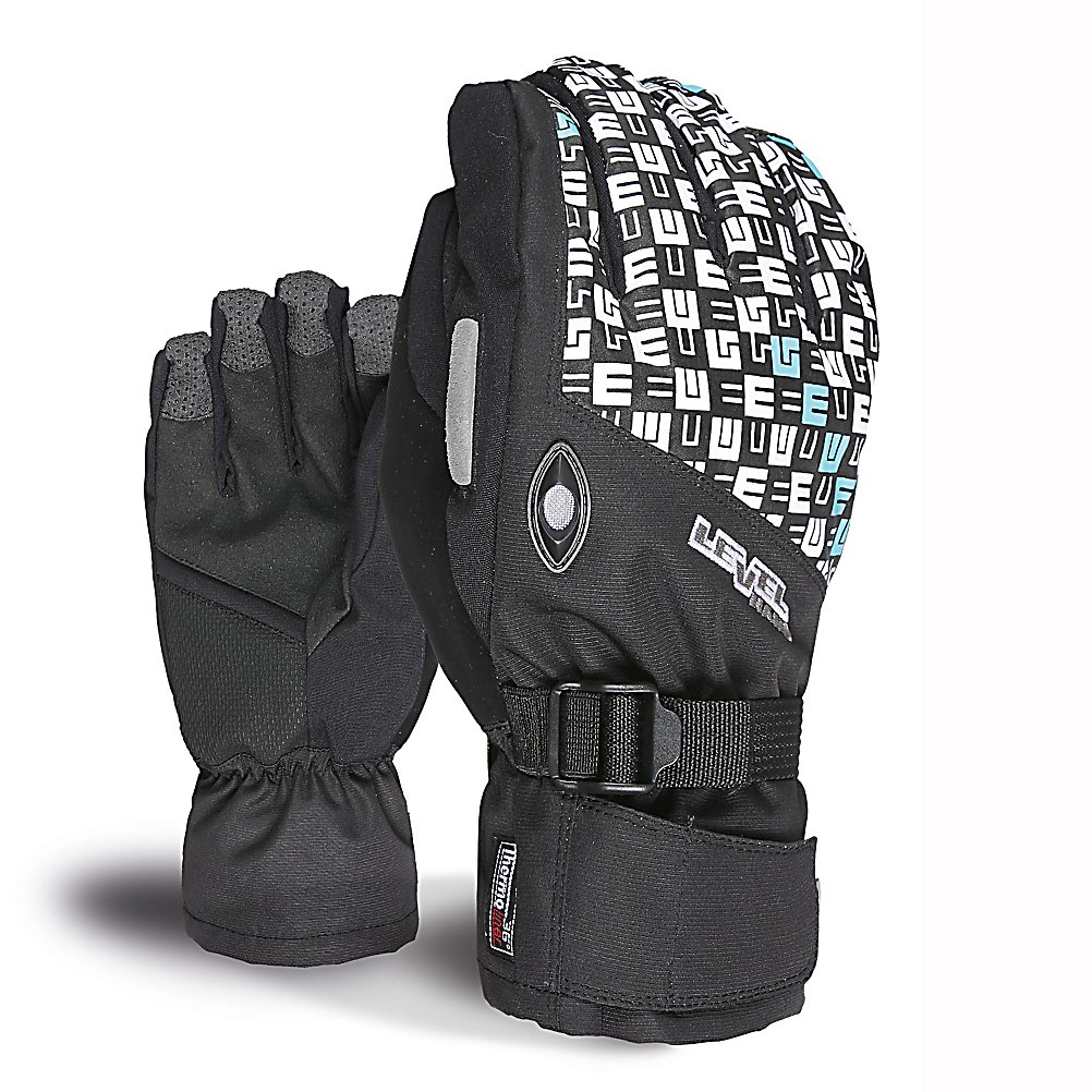 Snowboard Level Matrix Under Womens Gloves - The Level Womens Matrix Under Glove is the perfect blend of style and function for your hands. Geared for all mountain use with excellent water-resistant fabrics, improved sensitivity and exceptional grip. Stretch fabric provides a perfect combination of flexibility and durability. The Matrix Under gloves use Thermo-Plus insulation which has been proven to reduce heat dispersion by 30%, this means that heat doesn't escape and your hands stay 30% warmer. Level pays great attention to comfort and functionality as they express quality and current style and design. With a removable liner which gives you options when the weather becomes warmer. The Matrix Glove comes equipped with a goggle and nose wipe to make sure you can see perfectly clear and without a runny nose. The Level Matrix Under Glove is one piece of equipment women should have to live without. . Removable Liner: Yes, Material: Thermoliner, Warranty: One Year, Battery Heated: No, Race: No, Type: Glove, Use: Ski/Snowboard, Wristguards: No, Outer Material: Nylon, Waterproof: No, Breathable: Yes, Pipe Glove: No, Cuff Style: Under the cuff, Down Filled: No, Touch Screen Capable: No, Model Year: 2013, Product ID: 290944 - $65.00
