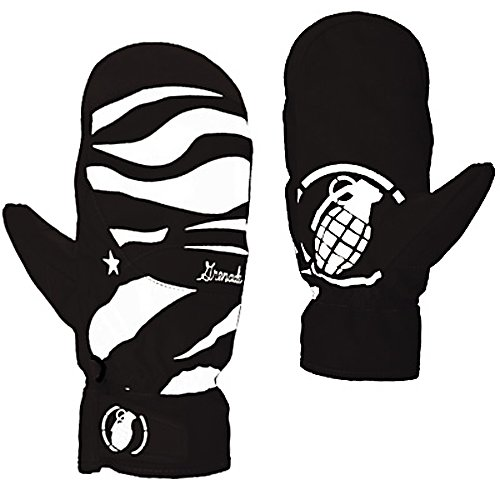 Snowboard Grenade Instinct Womens Mittens - The Womens Instinct Mitt from Grenade is going to keep you protected from malicious winter attacks. Mitten over a glove is going to provide an increase in hand temperature since your fingers are together, rather than separated like a glove. Endless tow rope laps mean nothing to the Instinct Mitt with Lorics Suede Palm, is going to be durable and long lasting. Durable Nylon exterior matched with Primaloft insulation is going to keep your hands warm all day long, while moisture wicking treatment of the Instinct help keep you dry. Hipora breathability allows for your hands to regulate temperature. Waterproof inserts keeps your hands dry from mother natures snow storms. The Womens Instinct Mitt is going to do all the thinking for you. . Warranty: One Year, Model Year: 2013, Product ID: 292032, Touch Screen Capable: No, Down Filled: No, Cuff Style: Under the cuff, Pipe Glove: No, Breathable: Yes, Waterproof: Yes, Outer Material: Nylon, Wristguards: No, Use: Ski/Snowboard, Type: Mitten, Race: No, Battery Heated: No, Material: Primaloft Insulation, Removable Liner: No - $69.99