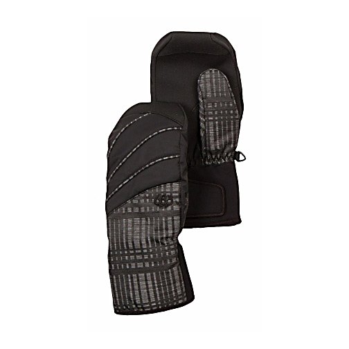 Snowboard 686 Luster Insulated Womens Mittens - The 686 Luster Insulated Mitten will add to your sweet ski and snowboard look. The palm has a fiberfill insulation, and a waterproof liner, with pre-curved full finger grip - creating a mitten with high performance. A sand grip anti-slip palm reinforcement and partially elasticized neoprene wrist with Velcro adjustable cuff tab allows you to keep a good grip on your outdoor sport. The contrast piping accents brings a trendy-cool look to your winter attire. . Removable Liner: No, Material: Nylon, Warranty: Other, Battery Heated: No, Race: No, Type: Mitten, Use: Ski/Snowboard, Wristguards: No, Outer Material: Softshell, Waterproof: Yes, Breathable: Yes, Pipe Glove: No, Cuff Style: Over the cuff, Down Filled: No, Touch Screen Capable: No, Model Year: 2013, Product ID: 292580 - $50.00