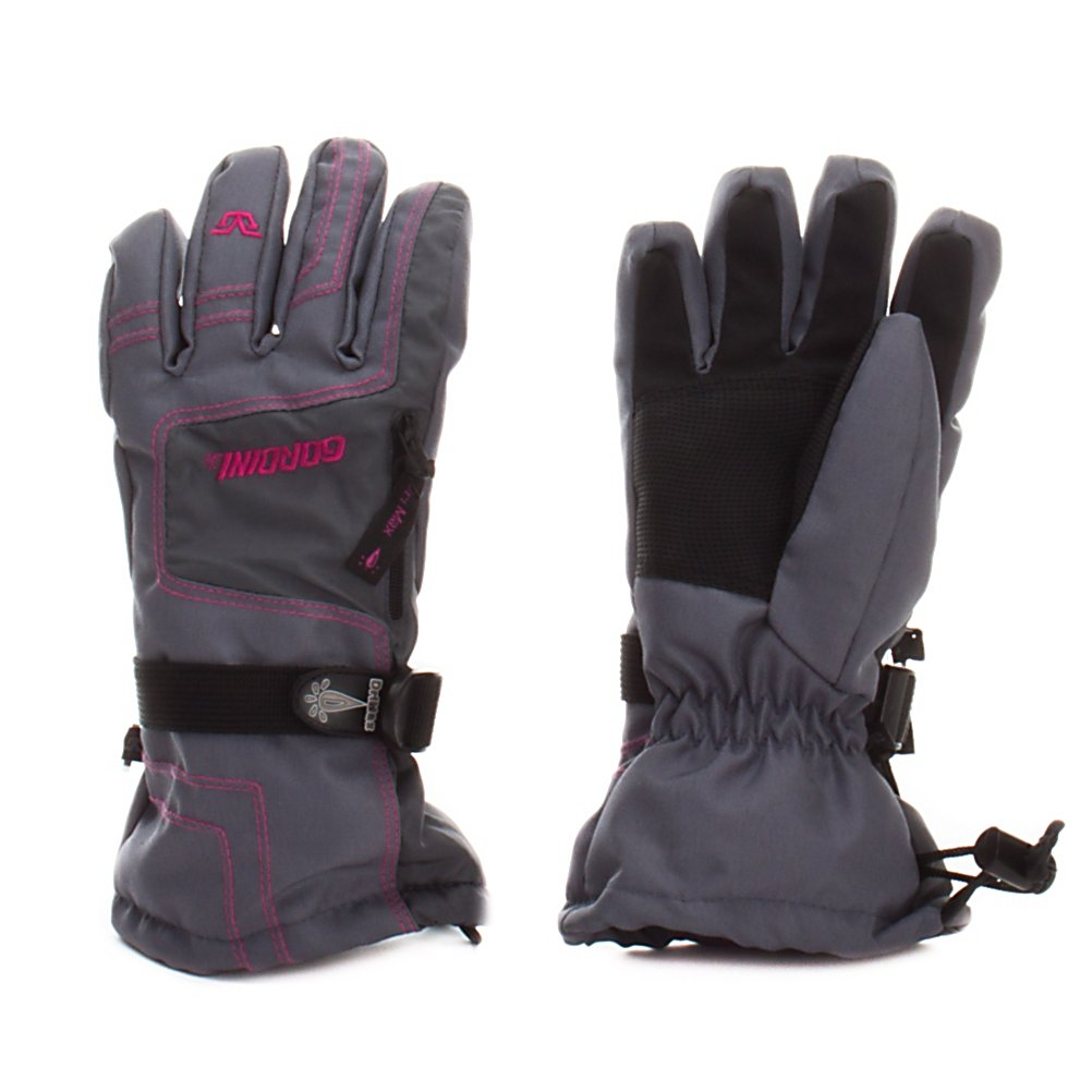 Ski Gordini Ultra Drimax Gauntlet IV Girls Ski Gloves - Your little girl's hands will stay nice and warm and cozy when she wears the Gordini Ultra Dri-Max Gauntlet Gloves. Thanks to the waterproof breathable Dri-Max insert and MegaLoft insulation the heat will stay trapped in the glove without any worry of the precipitation seeping in. Polytex and mini ripstop with digital grip palm and thumb and stick-grip fingers make the exterior of the gloves very durable and will give them a grip when hanging on to the poles as the chairlift heads up the slopes. Gauntlet cinch closure and zippered heater pack pocket are some of the special features to help keep the heat and ensure comfy hands and fingers with the Gordini Ultra Dri-Max Gauntlet Girls Ski Gloves. Features: Zippered Heaterpack Pocket. Removable Liner: No, Material: Polytex, Warranty: One Year, Battery Heated: No, Race: No, Type: Glove, Use: Ski/Snowboard, Wristguards: No, Outer Material: Nylon, Waterproof: Yes, Breathable: Yes, Pipe Glove: No, Cuff Style: Over the cuff, Down Filled: No, Model Year: 2013, Product ID: 245028 - $25.00