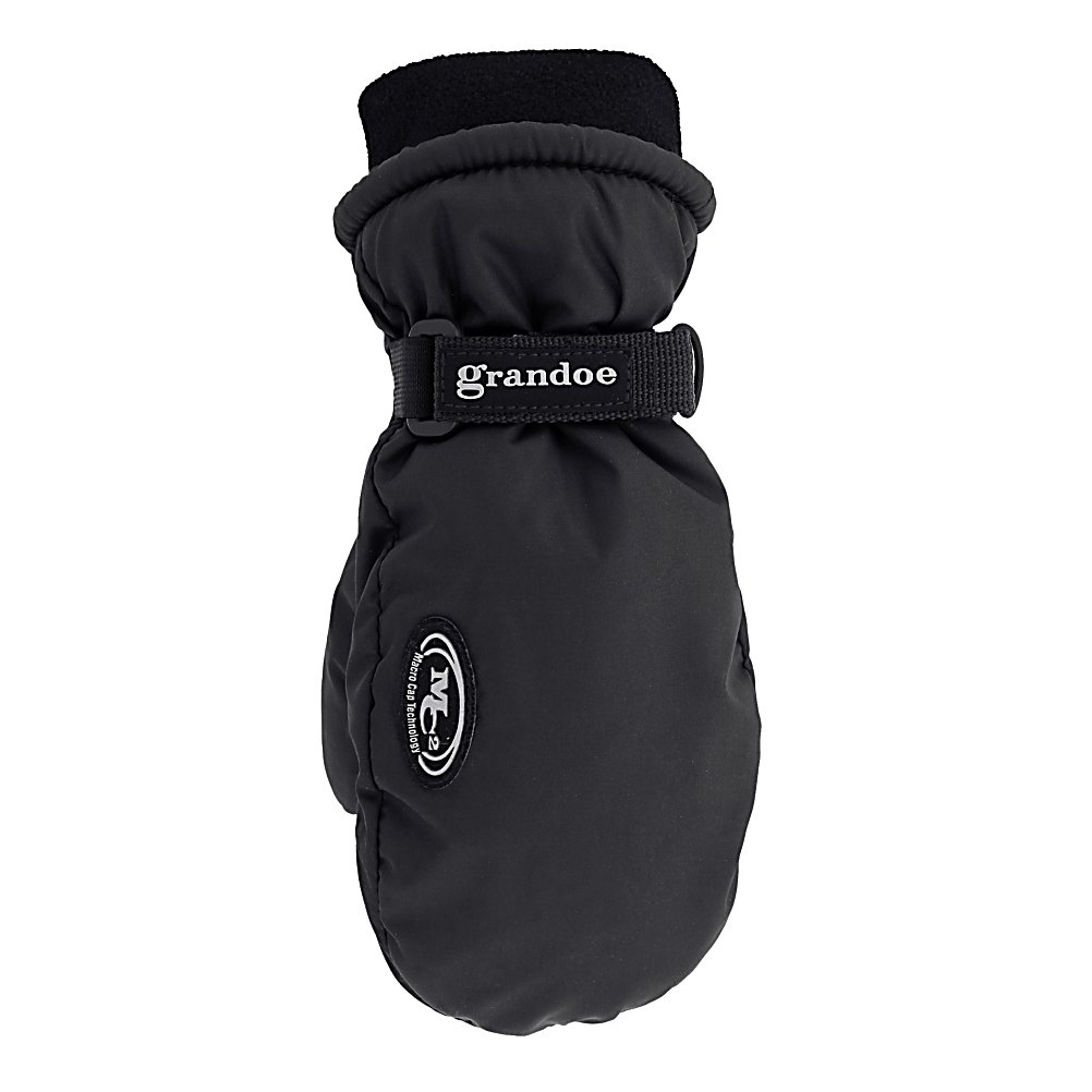 Ski Grandoe 1/2 Pounder Kids Mittens - The Grandoe 1/2 Pounder Junior Mittens are just like the Adult Two Pounder and has been designed for your little one's. They are extremely warm, soft and comfortable. Featuring a Vulcan Grip palm that will give them a leather like grip for ultimate durability, gripability and abrasion resistant. The Dri-Gard insert keeps the 1/2 Pounder warm and dry no matter what the weather conditions are like. ThermaDry insulation will keep your little one's hands toasty warm. A microfleece cuff ensures that they will stay comfortable all day long. . Removable Liner: No, Material: MicroPlus, Warranty: One Year, Battery Heated: No, Race: No, Type: Mitten, Use: Ski/Snowboard, Wristguards: No, Outer Material: Nylon, Waterproof: Yes, Breathable: Yes, Pipe Glove: No, Cuff Style: Under the cuff, Down Filled: No, Touch Screen Capable: No, Model Year: 2013, Product ID: 245973 - $44.99