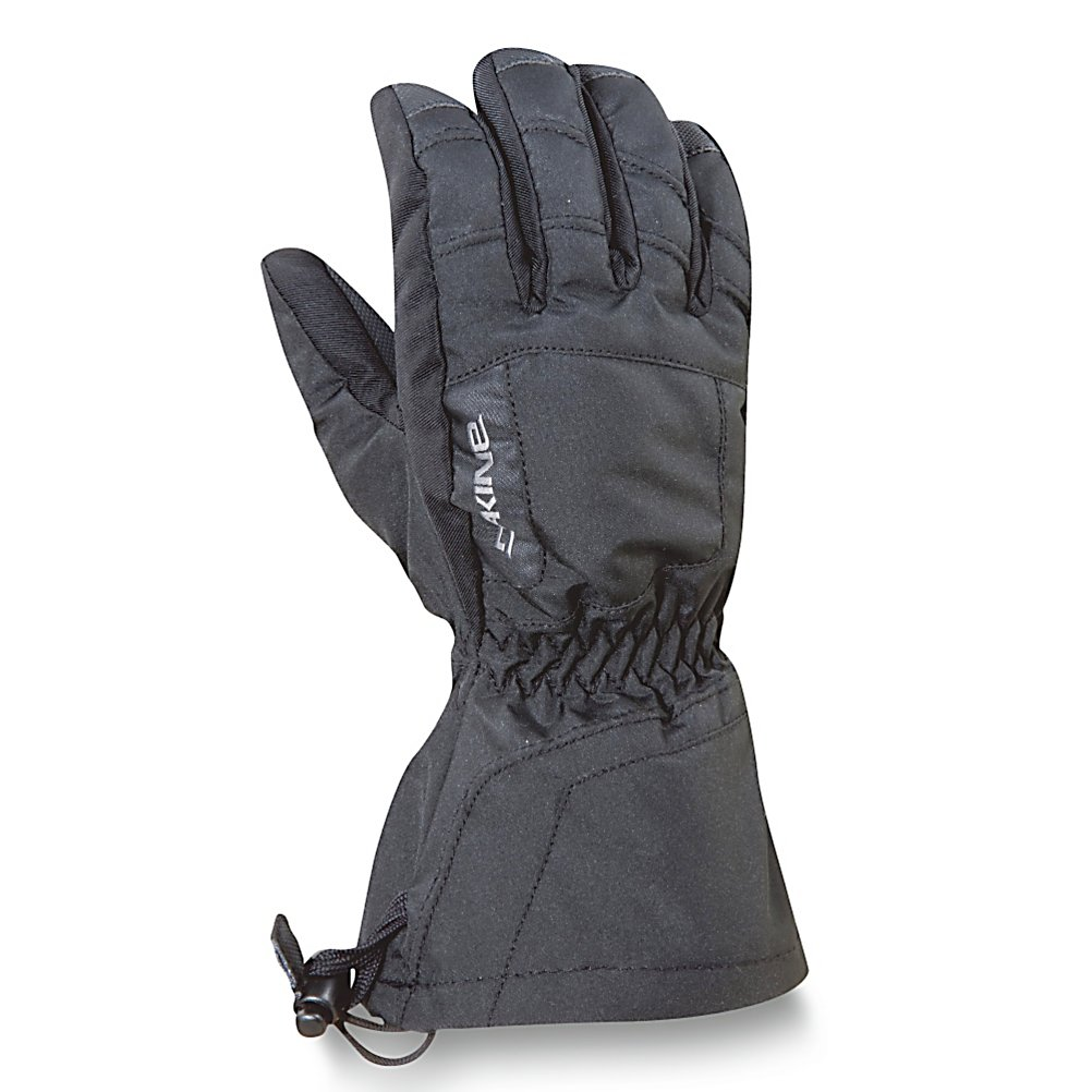 Ski Dakine Tracker Kids Gloves - The Dakine Tracker Ski Gloves are sure to keep your young skier's hands protected against those wicked winter conditions. It's designed with a waterproof, windproof Polyurethane insert to help keep their hands protected from the nasty wintry elements they may face on the mountain. The high loft insulation not only resists moisture but helps trap heat inside the gloves so that their fingers can remain cozy and warm throughout the day. To help keep their grips solid on ski poles, tow ropes and chairlifts, the palm has a high grip Polyurethane. When they close up the gloves with the one hand cinch gauntlet, the snow will stay on the outside while their inside retains its heat. Warm, comfy and cozy, the Dakine Tracker Ski Gloves are a great choice for the little skier heading out onto the slopes. . Removable Liner: No, Material: Nylon/Poly with DWR Treatment, Warranty: Lifetime, Battery Heated: No, Race: No, Type: Glove, Use: Ski/Snowboard, Wristguards: No, Outer Material: Nylon, Waterproof: Yes, Breathable: Yes, Pipe Glove: No, Cuff Style: Over the cuff, Down Filled: No, Touch Screen Capable: No, Model Year: 2012, Product ID: 273543 - $30.00