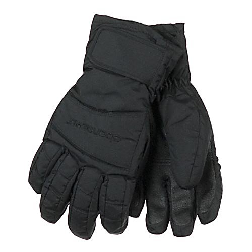 Ski Obermeyer Alpine Girls Gloves - You're girl won't be complaining about cold hands when she wears the Obermeyer Girls Alpine Gloves. Permaloft insulation keeps warmth in, and the Hydrobock coating repels water so her hands don't get soaking wet. The additional breathable Hydroblock insert gives even more protection from the elements, and the Sure-Grip palm and fingers make it easy for her to hold onto her poles. Obermeyer has the highest reputation for putting out a quality product like these Alpine gloves for girls, designed with a durable, highly water-resistant shell and warm, bulk-free insulation. . Removable Liner: No, Material: Nylon, Polyester, Battery Heated: No, Race: No, Type: Glove, Use: Ski/Snowboard, Wristguards: No, Outer Material: Nylon, Waterproof: Yes, Breathable: No, Pipe Glove: No, Cuff Style: Under the cuff, Down Filled: No, Model Year: 2013, Product ID: 278424, Touch Screen Capable: No, Warranty: Lifetime - $30.00