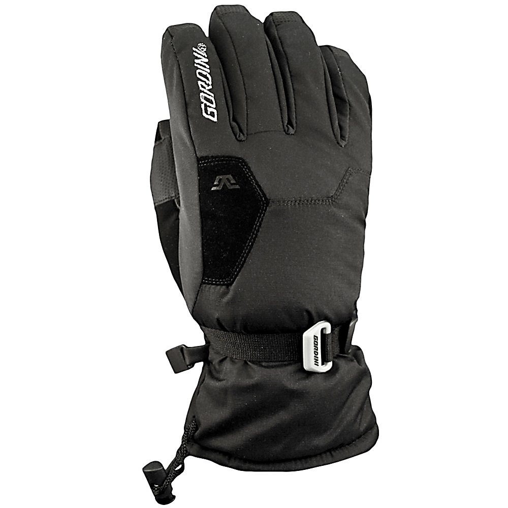 Ski Gordini Stomp II Kids Ski Gloves - The Gordini Stomp II Junior Ski Gloves will help keep the young one's hands warm and comfortable when you're skiing in the coldest conditions. The Stomp Gloves are made with mini ripstop with breathe weave stretch woven fabrics to ensure durability. Add to it Aquabloc and you'll have a waterproof, breathable and windproof gloves that will surely keep the junior's hands feeling good so they won't want to go inside to warm up. They won't need to especially when you factor in the Megaloft Insulation which will keep the heat trapped inside. To help increase the comfort levels, a Hydrowick Microdenier Lining helps wick away the sweat and moisture so that your child's hands will stay warm, dry and comfortable when they wear the Gordini Stomp II junior Gloves. Features: Nose Wipe. Removable Liner: No, Material: Mini Ripstop with Breathe Weave Stretch Woven Fabric, Warranty: One Year, Battery Heated: No, Race: No, Type: Glove, Use: Ski/Snowboard, Wristguards: No, Outer Material: Nylon, Waterproof: Yes, Breathable: Yes, Pipe Glove: No, Cuff Style: Over the cuff, Down Filled: No, Model Year: 2013, Product ID: 288428 - $30.00
