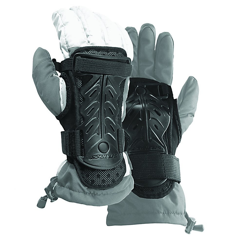 Ski Seirus Jam Master II Kids Gloves - The Seirus Jam Master II will protect your wrist while not compromising your gloves. Featuring durable ABS plastic bones in a padded shell for comfort. The Jam Master II will fit easily over any glove or mitten. Perforated mesh-covered Neoprene ensures your gloves maintain there breathable qualities. If you want to protect your wrist then the Seirus Jam Master II is a great choice. . Warranty: One Year, Battery Heated: No, Wristguards: Yes, Cuff Style: Over the cuff, Touch Screen Capable: No, Model Year: 2014, Product ID: 288541, Down Filled: No, Breathable: Yes, Waterproof: Yes, Outer Material: N/A, Use: Ski/Snowboard, Type: Protector, Race: No, Material: ABS Plastic, Removable Liner: No - $29.99