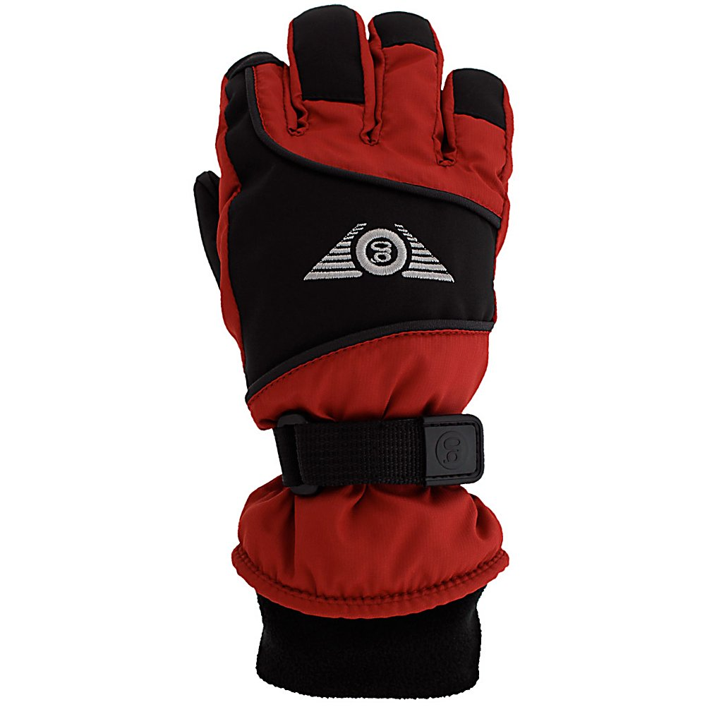 Ski Grandoe Icon Kids Gloves - An important style in the junior collection, the Icon Jr. is constructed of microfiber and Velocity Soft-Shell. It utilizes a full Vulcan Grip palm to protect against wear and tear. The MicroSupreme and Velocity Soft-Shell are plenty comfortable while remaining durable. Velocity Soft-Shell is a premium stretch soft-shell exclusive to Grandoe. It's sleek, soft, durable, water resistant and breathable. The Vulcan Grip Palm provides Spock-like grip so your grom never drops their ski pole or slips on the grab. Dri-Gard insert locks out the water but releases the sweat so your child's hands stay dry. ThermaDry insulation keeps their hands warm even through the snowstorm. MicroFleece Cuff prevents chafing so rest assured that the Grandoe Icon Jr glove is completely comfortable. . Removable Liner: No, Material: MicroSupreme and Velocity Soft-Shell, Warranty: One Year, Battery Heated: Yes, Race: No, Type: Glove, Use: Ski/Snowboard, Wristguards: No, Outer Material: Softshell, Waterproof: Yes, Breathable: Yes, Pipe Glove: No, Cuff Style: Under the cuff, Down Filled: No, Touch Screen Capable: No, Model Year: 2013, Product ID: 289797 - $44.99