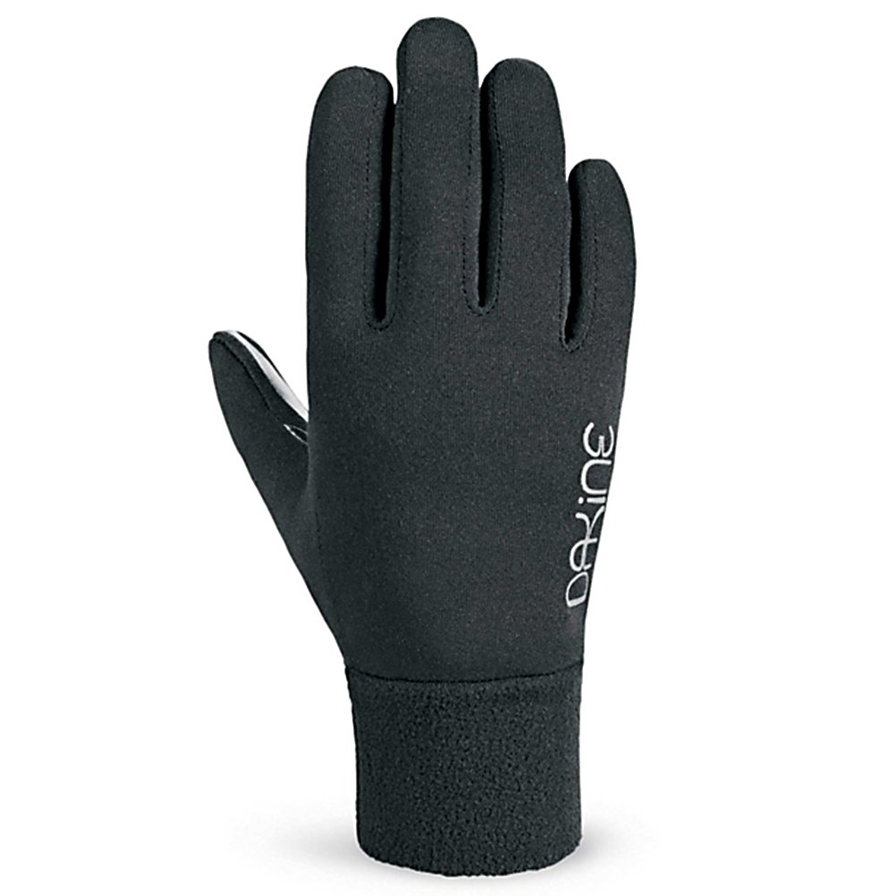 Ski Dakine Storm Womens Glove Liners - Need that extra bit of insulation on the coldest days of the year? Check out the Dakine Womens Storm Liner Glove and added a little bit more comfort and warmth to you gloves. The mid weight 280g 4x4 stretch fleece is comfortable and soft without constricting your hand or finger movements and the Silicone Gripper Palm Pattern makes holding on to skis, poles, cell phones and more easy while keeping your fingers warm. . Removable Liner: No, Material: 4x4 stretch fleece, Warranty: One Year, Battery Heated: No, Race: No, Type: Glove, Use: Liner, Wristguards: No, Outer Material: Fleece, Waterproof: No, Breathable: Yes, Pipe Glove: No, Cuff Style: Under the cuff, Down Filled: No, Model Year: 2013, Product ID: 283126 - $20.00
