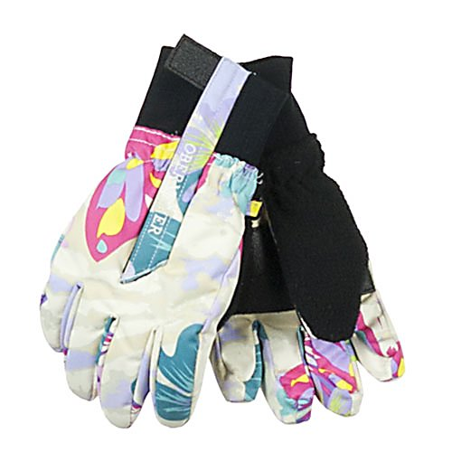 Ski Obermeyer Thumbs Up Girls Toddlers Gloves - Warm gloves are necessary elements to the perfect day outside on the mountain, or in the back yard! Obermeyer's Thumbs Up Glove keeps children warm, dry and comfortable! The Obermeyer Thumbs Up Girls Gloves will surely get your approval. They have Velcro closure, so it is easy to get the gloves on and off of those who are always in a hurry. They stay on the hand securely securing the heat in as they keep the hand warm. The Thumbs Up Girls Gloves are insulated with Permaloft, which is a non-compactable thermal fiber that adjusts with the body's position without restricting movement. Permaloft is extremely soft, lightweight and is considered one of the best insulators with a superior warmth-to-weight ratio. . Removable Liner: No, Material: Nylon, Warranty: Lifetime, Battery Heated: No, Race: No, Type: Glove, Use: Ski/Snowboard, Wristguards: No, Outer Material: Nylon, Waterproof: No, Breathable: No, Pipe Glove: No, Cuff Style: Under the cuff, Down Filled: No, Touch Screen Capable: No, Model Year: 2013, Product ID: 278741 - $35.00