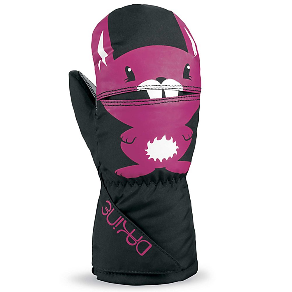 Ski Dakine Scrambler Toddlers Mittens - Keep your little guy's hands warm with the Dakine Scrambler Mitt . It's designed with a waterproof, windproof Polyurethane insert to help keep their hands protected from the nasty wintry elements they may face on the mountain. The high loft insulation not only resists moisture but helps trap heat inside the gloves so that their fingers can remain cozy and warm throughout the day. To help keep their grips solid on ski poles, tow ropes and chairlifts, the palm has a high grip Polyurethane. When they close up the gloves with the one hand cinch gauntlet, the snow will stay on the outside while their inside retains its heat. Warm, comfy and cozy, the Dakine Scrambler Mitt is a great choice for the little skier heading out onto the slopes. . Removable Liner: No, Material: Nylon with DWR treatment, Warranty: One Year, Battery Heated: No, Race: No, Type: Mitten, Use: Ski/Snowboard, Wristguards: No, Outer Material: Nylon, Waterproof: Yes, Breathable: Yes, Pipe Glove: No, Cuff Style: Under the cuff, Down Filled: No, Model Year: 2013, Product ID: 283159 - $23.00