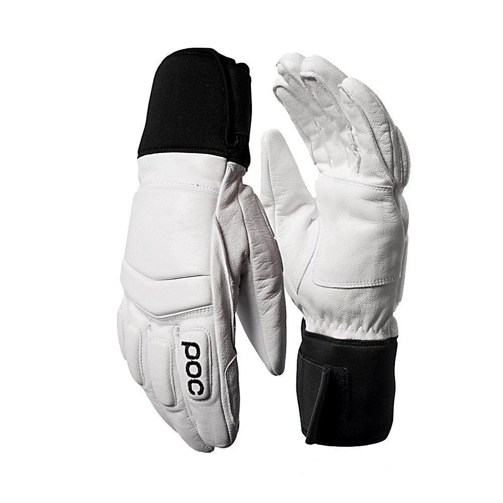 Ski POC Palm X Ski Racing Gloves - The Palm X is a comfortable race glove with protections on the backside of the hand and fingers. Side seems are strategically placed on the glove to provide a great fit and more durable construction. The Palm X from POC features external finger seams for increased comfort and optimal grip. The Palm X has reinforcement in palm area and on the index finger to help maximize durability. It comes with a neoprene cuff with Velcro adjustment for individual fit and freedom of movement. . GTIN: 7332522439185, Model Number: 30022 01 S, Product ID: 284947, Model Year: 2015, Glove/Mitten Insulation: Synthetic, Glove Weather Condition: Average, Glove Quality: Best, Category: Race, Down Filled: No, Cuff Style: Under the cuff, Pipe Glove: No, Breathable: Yes, Waterproof: Yes, Glove Outer Fabric: Leather, Wristguards: No, Use: Ski/Snowboard, Type: Glove, Race: Yes, Battery Heated: No, Warranty: One Year, Material: Goat Skin Leather, Removable Liner: No - $99.99