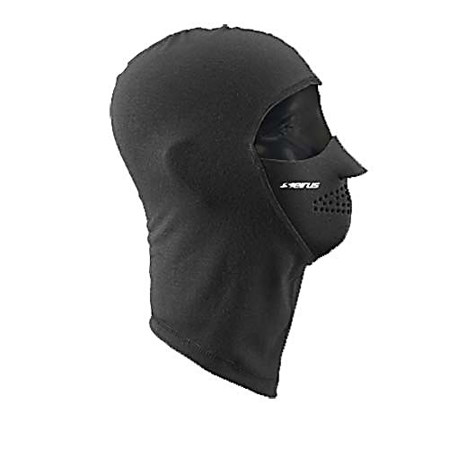 Ski The Seirus Noefleece Headliner will keep you warm, dry and comfortable for any cold weather activity. It can be used up to 4 ways such as a helmet liner, balaclava, under hats and a neck warmer. The Seirus Headliner is a full coverage hood, face mask and neck warmer all in one. It keeps you extremely warm and feels soft on your skin for all the cold outdoor activities. This ultra-thin balaclava fits easily under a helmet and is easy to pack along as a lightweight insulating layer. 4 Way stretch fleece for a comfortable snug fit, choose to leave only your eyes exposed or wear as a hood and expose your whole face, depending on conditions. Such a lightweight design that stows easily in a pocket and machine wash and dry on cool temperature setting for easy care and wear.  The ultimate lightweight headliner,  Thermax balaclava with Neofleece facemask,  Neofleece  facemask blocks wind and cold,  4-way stretch,  4-N-1,  GTIN: 0090897221077, Model Number: 2210.0.0010, Product ID: 249015, Model Year: 2017, Type: Balaclava, Material: Fleece, Warranty: Other, Material: Neofleece - $24.99