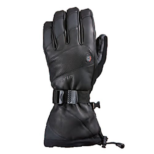 Ski Keep your hands toasty warm with the Seirus Heat Touch Inferno Ski Gloves.  With the simple press of a button you will get tons of heat sent your way to keep your hands and fingers warm.  There are multiple heat settings should things get a tad warm and you want to turn it down a little.  These gloves take Lithium ion batteries that will give you up to Six hours of warmth and easily recharges with the included battery charger.  The Seirus Heat Touch gloves are waterproof and breathable to keep your hands dry and comfortable and the grippy leather palms will give you an excellent grip on your ski poles, ice axes and any other pieces of equipment you come in contact with.  Equipped with AC Charger that can be used in a cigarette lighter.  Not USB compatible.,  Battery Power: 1500 amps,  Model Year: 2016, Product ID: 288514, Model Number: 1098.2.0012, GTIN: 0090897053289, Touch Screen Capable: No, Down Filled: No, Cuff Style: Under the cuff, Breathable: Yes, Waterproof: Yes, Wristguards: No, Use: Ski/Snowboard, Type: Glove, Race: No, Battery Heated: Yes, Warranty: One Year, Material: Premium full-grain leather, Removable Liner: No - $249.77