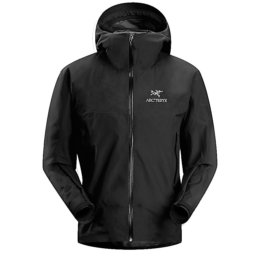 Camp and Hike Arc'teryx Beta SL Rain Mens Jacket - Re-designed with a slimmer athletic fit that is ideal for all of your 3-season activities, the great fitting Beta SL Mens Jacket will keep you ready for any weather changes while also providing full protection. Made from 340NR Gore-Tex and Paclite 2 layer fabric with moisture wicking properties you'll stay dry and warm. The micro climate control technology helps keep your body temperature regulated so that you're comfortable all day long. The laminated hem with the adjustable hem draw cord will keep out snow as well as the unwanted winds when you're backpacking, climbing, hiking or just trekking. This Arc'tertx Beta SL Jacket is compressible, packable, waterproof, breathable and ideal for emergency storm protection. The anatomical shaping and the gender specific, articulated patterning offers unrestricted mobility. Other features include the water-resistant laminated zippers, the trim fitting drop hood and the glove friendly hood adjusters. Arc'teryx has thought of it all to keep you protected and comfortable as you explore and take part of the great outdoors. Features: 3-Season Jacket, Athletic Fit with e3D, Two Hand Pockets with Laminated Zippers, Compressible, Packable, Lightweight Emergency Storm Protection. Exterior Material: 340NR Gore-Tex, Paclite 2 Layer, Softshell: Yes, Insulation Weight: None, Taped Seams: Fully Taped, Waterproof Rating: 20,000mm, Breathability Rating: 20,000g, Hood Type: Fixed, Pockets: 1-3, Electronics Pocket: No, Goggle/Sunglasses Pocket: No, Pow - $199.90