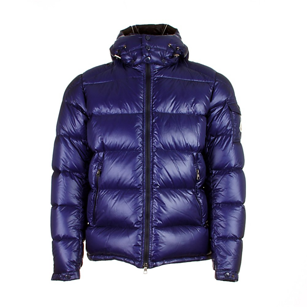 Ski Moncler Zin Mens Jacket - Moncler has become famous for its quilted jackets, ski and outdoor-wear. The Zin Jacket is made from duck down, this collection offers warmth and is lightweight to wear. The Moncler Zin Jacket features a detachable drawstring hood, zip removable inner lining with a ribbed collar, and a zip up front closure which offers you a versatile look and adapts to weather changes. The Zin Jacket is made of extra-light nylon that adds minimal weight with amazing warmth. The Zin has a glossy exterior and brings on an original style. A logo patch details a snap-flap pocket at the outer sleeve that represents high quality and design. . Exterior Material: Techno fabric, Insulation Weight: Not Specified, Taped Seams: Critically Taped, Waterproof Rating: N/A, Breathability Rating: N/A, Pockets: 1-3, Hood: Yes, Warranty: Other, Use: Ski, Battery Heated: No, Race: No, Type: Insulated, Cut: Regular, Length: Medium, Insulation Type: Down, Waterproof: Not Specified, Breathability: Not Specified, Cuff Type: Elastic, Waterproof Zippers: No, Wind Protection: No, Insulator: No, Model Year: 2013, Product ID: 286623 - $849.95