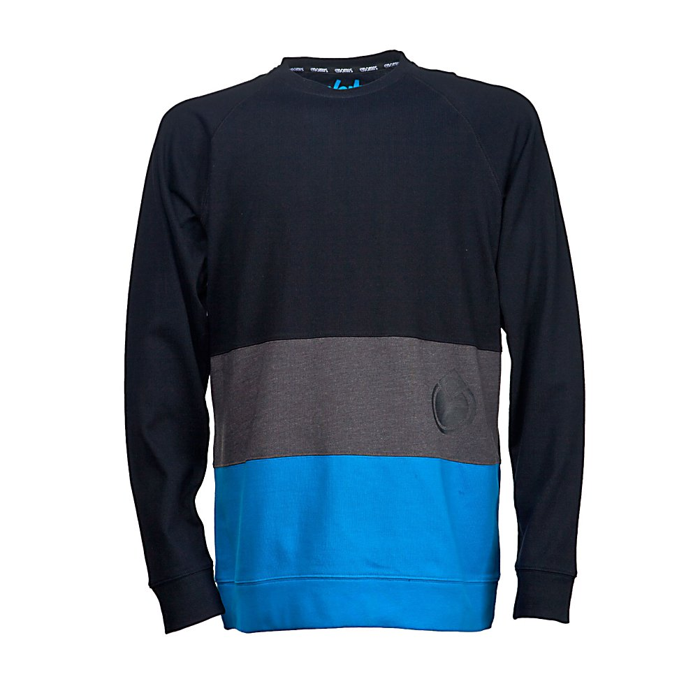 Ski Nomis Era Long Sleeve Jersey Shirt - Pick the Era Long-Sleeve T-Shirt from Nomis up off of your floor and put it back on one more time. I know, I know you have worn it every day this week, and sure, it has been sitting on your floor in a pile of laundry that you are never ever going to do. Made up 100 percent heavyweight cotton the Era long sleeve works as a stand alone top or for those extra chilly days a great layering piece. The stylish design will have people taking a second look as you stroll by wondering where they can get this awesome shirt. . Material: 100% Cotton, Battery Heated: No, Type: Tees, Weatherproof: No, Material: Cotton, Model Year: 2012, Product ID: 246860 - $39.95