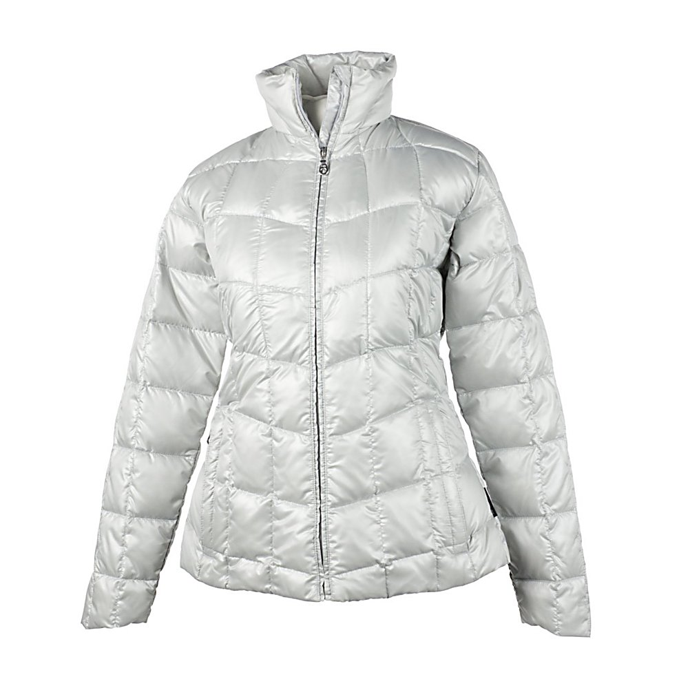 Ski Obermeyer Kassidy Down Womens Jacket - Stay warm without a bulky coat in the Obermeyer Kassidy Down Sweater. It's called a sweater because it is styled like a sweater; sleek, feminine, and stylish. Pull on the Kassidy anytime you have to run outside and the quilted down insulation will keep you snuggly warm. Living in the mountains, Obermeyer is inspired to provide innovative, reliable, performance-driven ski clothing. They ski and they believe in the sport. Obermeyer holds themselves responsible for skiwear that stands up to weather and mountain conditions. They make choices, so you can choose the option that suits your outdoor activities best. Features: Ski pass D-ring, Zipper stash pocket. Exterior Material: Polyester, Softshell: No, Insulation Weight: N/A, Waterproof Rating: 5,000mm, Breathability Rating: 5,000g, Hood Type: None, Pit Zip Venting: No, Pockets: 1-3, Electronics Pocket: No, Goggle/Sunglasses Pocket: No, Powder Skirt: No, Hood: No, Warranty: Lifetime, Use: Outdoor, Battery Heated: No, Race: No, Rain Jacket: No, Type: Insulated, Cut: Regular, Length: Medium, Tall: No, Insulation Type: Down, Waterproof: Not Specified, Breathability: Moderate Breathability (4000g-8999g), Cuff Type: None, Wrist Gaiter: No, Waterproof Zippers: Yes, Wind Protection: No, Cinch Cord Bottom: No, Product ID: 234545, Taped Seams: Fully Taped, Model Year: 2012 - $69.93