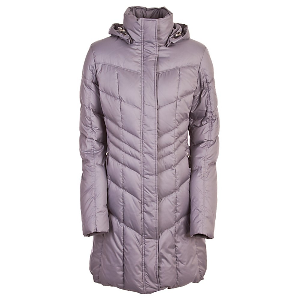 Ski Bogner Fire + Ice Annie2-D Womens Jacket - Choose to look amazing and warm, not only eye-catching on the slopes but in the city as well, the Bogner Fire And Ice Womens Annie2 Down Jacket is a longer style jacket. The modern, soft seam workmanship is feminine and flattering. The almost weightless padding with the finest down offers feather-light protection from the cold. The down insulation is flattering, warm and protecting from the biting cold on mid-winter excursions. Any woman gearing up for a cold winter would love The Fire and Ice Annie D Down Jacket as it is the peak of fashion. The Annie D is a high end jacket from its beautiful fabric to its feminine fit. The quilting has a vertical chevron design that keeps the insulation balanced and in place and also creates a slimming effect. . Exterior Material: Polyester Technical outdoor fabric, Softshell: No, Insulation Weight: 600 Fill down, Taped Seams: Critically Taped, Waterproof Rating: N/A, Breathability Rating: N/A, Hood Type: Removable, Pit Zip Venting: No, Pockets: 1-3, Electronics Pocket: No, Goggle/Sunglasses Pocket: No, Powder Skirt: No, Hood: Yes, Warranty: Lifetime, Use: Ski, Battery Heated: No, Race: No, Rain Jacket: No, Type: Insulated, Cut: Regular, Length: Long, Insulation Type: Down, Waterproof: Not Specified, Breathability: Not Specified, Cuff Type: None, Wrist Gaiter: No, Waterproof Zippers: No, Wind Protection: No, Cinch Cord Bottom: No, Model Year: 2012, Product ID: 266019 - $299.94