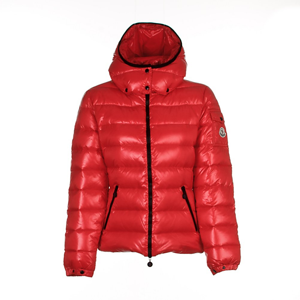 Ski Moncler Bady Womens Jacket - The Moncler Bady Jacket is Moncler's brand signature lacquered nylon jacket. This down duvet jacket is your classic down jacket that is over the top in quality and a flattering fit with very little bulk, leaving you with a stunning silhouette as you are kept toasty warm. The detachable hood gives you additional warmth when needed and the two zippered side pockets will hold all your wanted stuff. The cargo pocket on the left arm adds to the sweet detailing that Moncler brings to the table. Moncler has become famous for its quilted jackets, ski and outdoor-wear. Made from duck down, the collections are warm and lightweight taking you from the slopes to the city. . Insulation Weight: Not Specified, Taped Seams: Critically Taped, Waterproof Rating: N/A, Breathability Rating: N/A, Warranty: Other, Battery Heated: No, Race: No, Cut: Slim, Length: Short, Waterproof: Not Specified, Breathability: Not Specified, Waterproof Zippers: No, Wind Protection: Yes, Model Year: 2014, Product ID: 290723, Cuff Type: Elastic, Type: Insulated, Use: Ski, Hood: Yes, Pockets: 1-3, Exterior Material: Nylon, Insulation Type: Down - $975.00