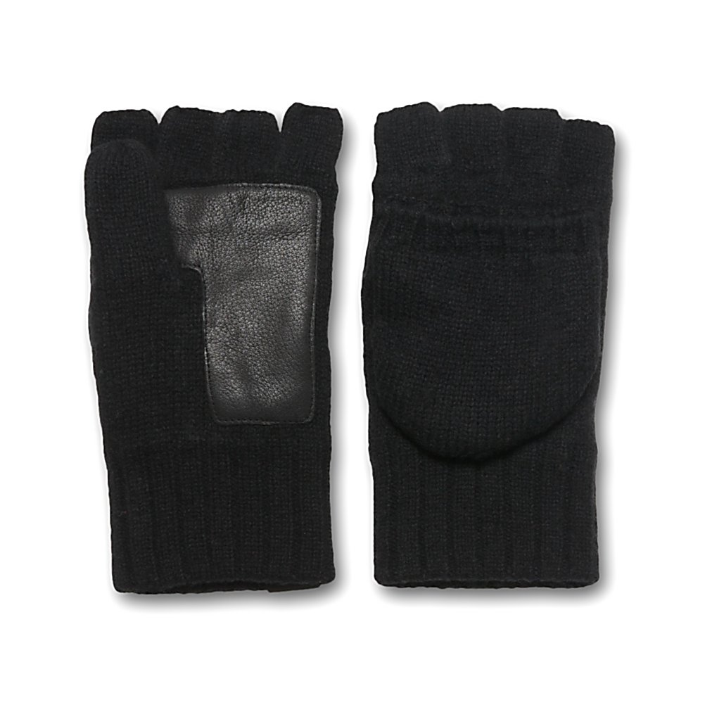 Fitness UGG Australia Fingerless Flip Mens Gloves - If you want the comfort, style, warmth and mobility to move your fingers on those cold winter days then you'll want a pair of the UGG Australia Fingerless Flip Mens Gloves. These casual gloves boast a super comfy lambswool fleece to keep your hands and fingers feeling very warm and comfortable. The Deerskin Palm Patch adds durability and grip when handling anything from a door handle to a briefcase to even your smartphone. Speaking of which, you can flip back the mitten part of the glove and allow your fingers to do any scrolling or typing. When closed, that mitten offers a cozy Micro Fur Lined interior. One of the best at keeping your hands warm when you're jumping into a cold car while running errands or roaming from the office to the subway, the UGG Australia Fingerless Flip Mens Gloves are all about comfort and warmth while remaining fashionable and stylish. . Warranty: One Year, Battery Heated: No, Wristguards: No, Cuff Style: Under the cuff, Touch Screen Capable: No, Model Year: 2013, Product ID: 300106, Down Filled: No, Pipe Glove: No, Breathable: No, Waterproof: No, Outer Material: Wool, Use: Casual, Type: Glove, Race: No, Material: Lambswool, Removable Liner: No - $44.95