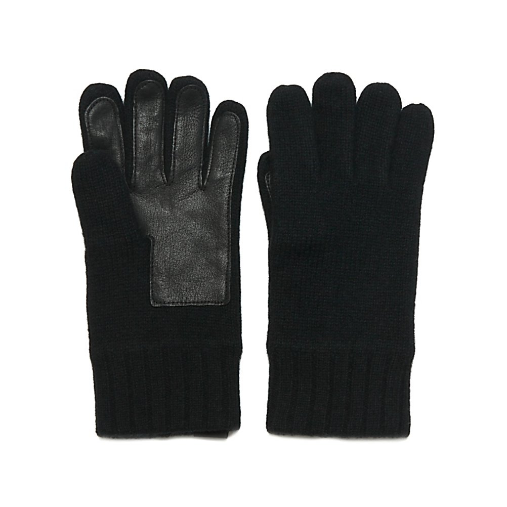 Ski UGG Australia Glove with Leather Palm Mens Gloves - The UGG Australia Mens Gloves with Leather Palms are made to keep your hands feeling warm and cozy on those cold winter days. Designed with a Lambswool, you'll have a very comfortable pair of gloves blocking the frigid winter air from chilling your hands. Adding to the comfort, these gloves also have a fleece lining. For durability as well as grip, the palm is designed with a Deerskin Patch. This helps when you need to get a good hold on anything from a briefcase to the car doors. If you're looking for warmth and comfort as well as style and the latest in fashion, look no further than the UGG Australia Mens Gloves with Leather Palms. . Removable Liner: No, Material: Lambswool, Warranty: One Year, Battery Heated: No, Race: No, Type: Glove, Use: Casual, Wristguards: No, Outer Material: Wool, Waterproof: No, Breathable: No, Pipe Glove: No, Cuff Style: Under the cuff, Down Filled: No, Touch Screen Capable: No, Model Year: 2013, Product ID: 300112 - $49.95