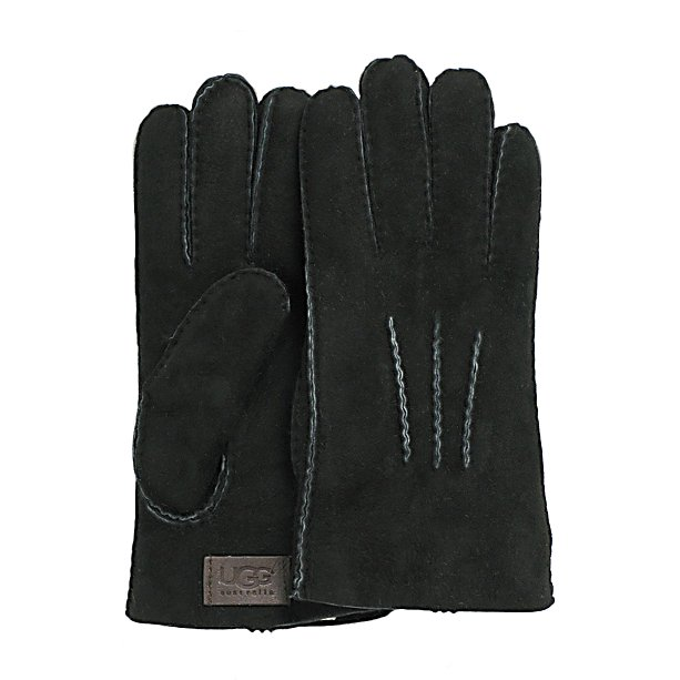 Ski UGG Australia Shearling with Gauge Points Mens Gloves - The UGG Australia Shearling with Gauge Points Gloves are a stylish way to ensure that your hands remain toasty warm and comfy all winter long. These shearling sheepskin gloves will help keep the cold out so that you can take care of business with comfort. Whether you're hopping into a cold car on a January day or heading from the office to the subway, these gloves will block the chill of the winter air. Its three-point styling adds a fashionable look to the warm gloves and the traditional leather-look create a subtle luxury. If you want to look good while combating the cold temperatures then you should have the UGG Australia Shearling with Gauge Points Gloves on your hands. . Removable Liner: No, Material: Shearling Sheepskin, Warranty: One Year, Battery Heated: No, Race: No, Type: Glove, Use: Casual, Wristguards: No, Outer Material: Leather, Waterproof: No, Breathable: Yes, Pipe Glove: No, Cuff Style: Under the cuff, Down Filled: No, Touch Screen Capable: No, Model Year: 2014, Product ID: 300119 - $119.95