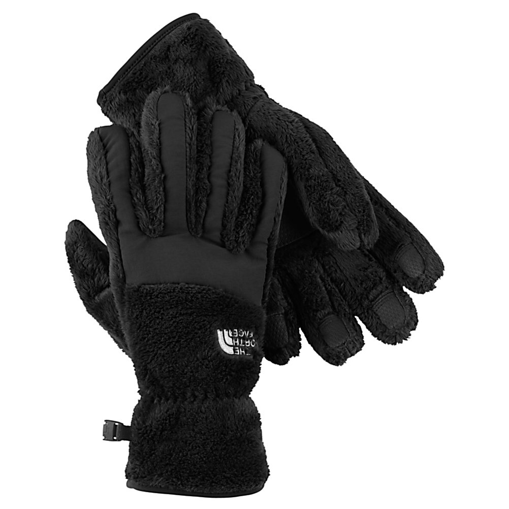 Ski The North Face Denali Thermal Womens Gloves - An updated classic with improved fit, dexterity and warmth created by North Face for the outdoor individuals that want a classic looking pair of gloves that are well insulated and made of 100% polyester high loft fleece with nylon taslan overlay for maximum warmth while on the slopes, in the park, skating on the lake or sledding on a much appreciated snow day with the kids. The 5 dimensional fit technology uses five measurements taken from a single index point at the heel of the hand, this pair of gloves has been built from the inside out to ensure a consistent size no matter what the use that this pair of gloves are intended for. Another feature is the radiametric articulation technology that uses a unique differential fabric pattern that produces built-in, natural articulation, mirroring the relaxed position of the hand while improving warmth and blood flow to your fingers keeping them comfortable and toasty warm all day long. The nylon taslan over the knuckles and fingers provides additional durability while the synthetic gripper palms adds durability and strength so you have no worries. Another feature is the elastic wrists seals that will keep out the cold and the unwanted snow. This pair of Denali Thermal Casual Gloves have built-in-class comfort, warmth, dexterity and design all wrapped into this one pair of casual gloves just for women. . Removable Liner: No, Material: Polyester High Loft Fleece with Nylon Taslan Overlay, Warranty: Lifetime, Battery Heated: No, Race: - $35.00