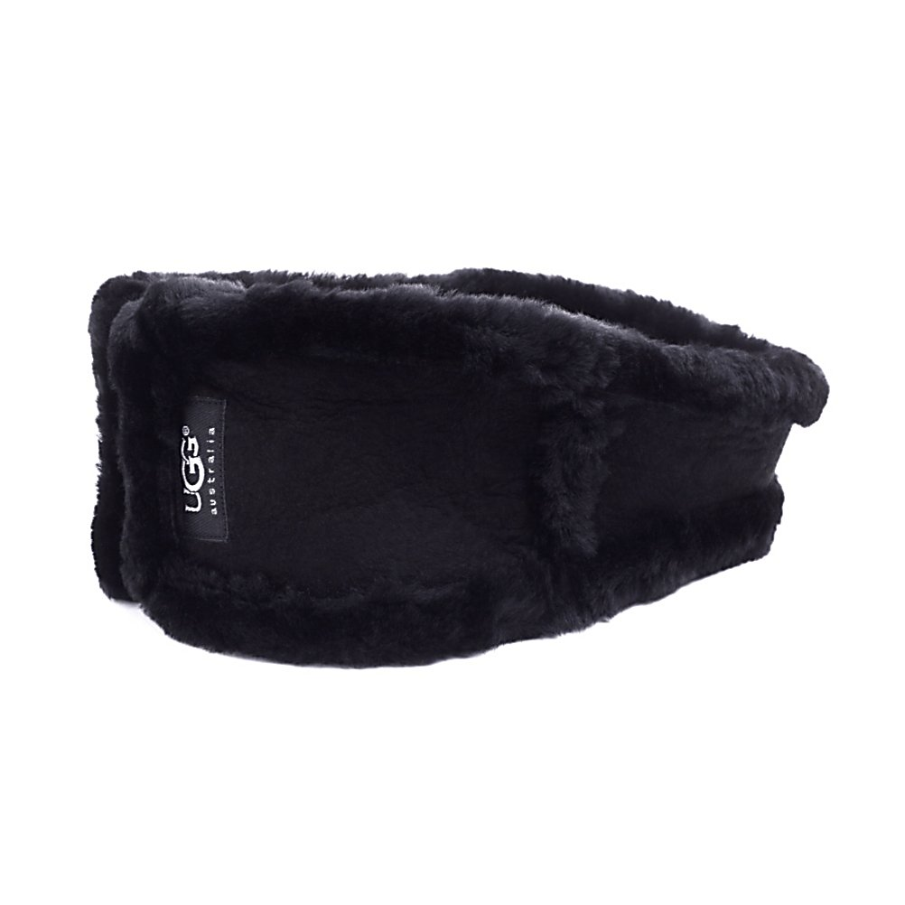 Entertainment UGG Australia Classic Headband Womens Hat - Ugg is always looking to keep its customers stylish and warm. Be both of those things with this Ultra Headband. This headband bares the Ugg logo as it is made of suede and shearling. Not only will it look great wrapped around your ears, but it will also keep you feeling safe and warm on a chilly day. The Ultra headband is a great choice for a lady who is concerned with the cold, but likes to stay looking chic without the hassle of a hat. . Warranty: One Year, Battery Heated: No, Material: Suede, Lined: Yes, Type: Headband, Model Year: 2014, Product ID: 144408, Model Number: 5797 200, GTIN: 0098617885561 - $95.00