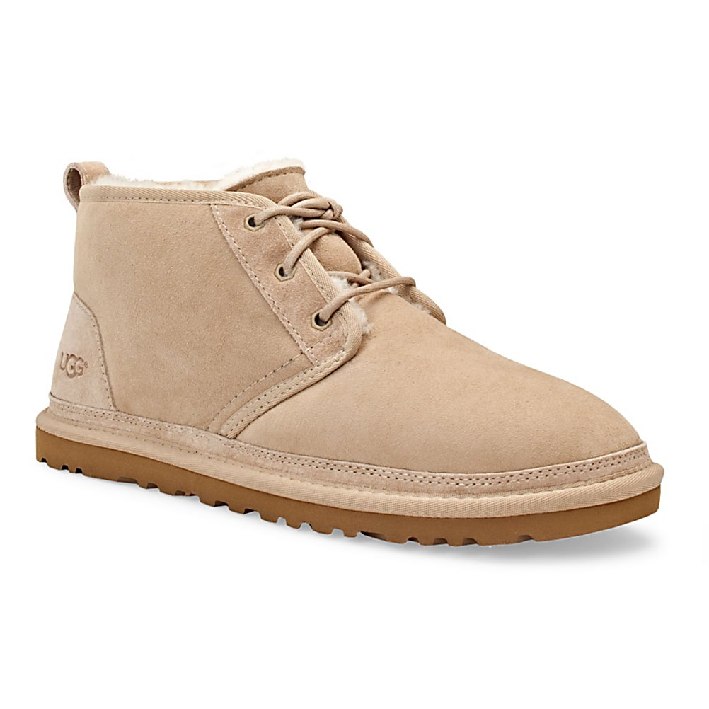 Entertainment UGG Australia Neumel Mens Casual Shoes - The UGG Neumel Casual shoe is an extension of the UGG Heritage collection. Made with a genuine twinface and suede upper that provides the best quality upper material around. The Neumel is lined with sheepskin that naturally wicks away moisture to keep the foot temperature regulated. Featuring a lo profile EVA outsole that provides a Classic look with an updated profile and makes for a lightweight and flexible shoe that will look good both as a casual shoe and also a dressier shoe. . Warranty: One Year, Waterproof: No, Material: Genuine twinface and suede, Type: Shoe, Insulated: No, Sole Material: Low Profile EVA, Model Year: 2012, Product ID: 242590 - $69.95