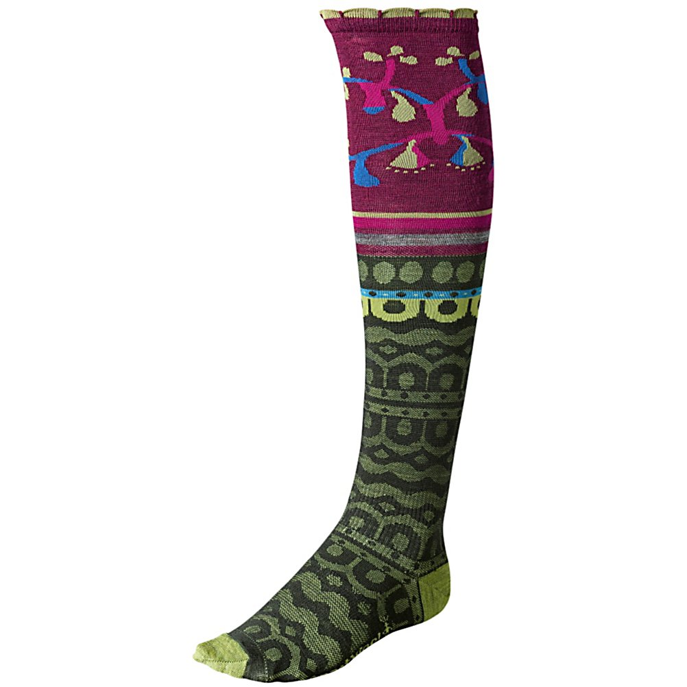 Ski SmartWool Ornamental Melange Womens Socks - The SmartWool Ornamental Melange Womens Socks are ultra comfy and designed to keep you looking like you're super warm. You will be super comfy thanks to the WOW Technology which puts Merino Wool in the high impact areas to help reduce shock and abrasion. This means your comfy socks will last much longer. SmartWool's Fit System will keep your sock from bunching up or slipping so they will always stay in place. Sometimes feet sweat and that can be kind of gross but luckily this SmartWool Ornamental Melange Womens Socks have strategic mesh zones which help ventilate the socks so you can stay dry. . Warranty: Other, Waterproof: No, Material: 58% Merino Wool, 40% Nylon, 2% Elastane, Insulated: No, Model Year: 2013, Product ID: 296093 - $23.95