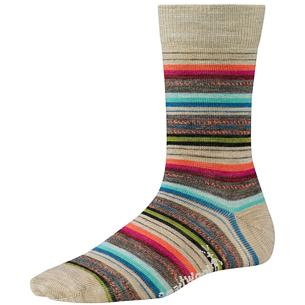 Ski SmartWool Margarita Womens Socks - The SmartWool Margarita Socks are super comfy and will keep your toes cozy when you're feeling cold. Made with WOW Technology you'll have a high impact heel and foot zones to make these socks more durable and comfortable. Using very comfy Merino Wool, you'll love wearing these fun and warm SmartWool Margarita Socks. . Warranty: Other, Waterproof: No, Material: 73% Merino Wool, 25% Nylon, 2% Elastane, Insulated: No, Model Year: 2013, Product ID: 296105 - $19.95