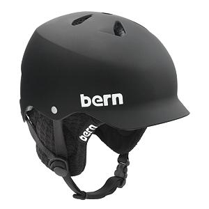 Snowboard Bern Watts Audio Hard Hat - The Bern Watts snow hard hat is a vented lid with visor and warm winter liner. Built-in high-fidelity ear pads let you to listen your favorite tunes. Plug your own audio player into the 8tracks audio adapter, and then plug the adapter into the liner, press play and rock on; Audio adapter features volume control. The integrated audio system puts earphones on the hard hat so all you need to do is plug in to your tunes. Comes with Brock Foam that absorbs multiple low-impact protection. The Brock Foam is an open cell foam that allows air to circulate through the foam and out the lid, which will keep you cool and dry. A removable liner allows you to wear the Watts helmet all year long. From snow to pavement your dome will stay protected with the Bern Watts Audio Hard Hat. . Certifications: None, Warranty: One Year, Gender: Mens, Special Features: Brock Foam, Special Features: Burly ABS Shell, Bearing Grade: Performance, Race: No, Category: Half Shell, Audio: Comes With, Brim/Visor: Yes, Ventilation: Fixed, Custom Fit Adjustment: No, Year Round Capable: Yes, Shell Construction: Hard Shell, Model Year: 2012, Product ID: 162476, Model Number: M58B S, GTIN: 0843990014400 - $59.92