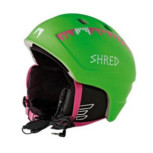 Snowboard SHRED Django Audio Helmet - Keep your dome protected year round with the SHRED Django Nastify Green Audio Helmet. The Django is made with a high quality in-molded construction and features Shred's soft fit. The Soft fit system is a comfortable size fitting device that uses Velcro to precisely adapt the helmet to your head size for a secure and comfortable fit. Six air vents on the top of the helmet are easily adjustable. You can leave them open, totally closed or you can adjust them to allow exactly the amount of air you would like to enter the helmet to keep you cool. There are soft ear pads in the Nastify Green as well as the SHREDry lining which a breathable, temperature controlling, anti-odor and anti-static inner lining that will keep you dry, comfortable and warm in the winter and cool in the summer. That's right the Nastify Green helmet can be worn year round. The Shred Audio System allows for hands free music listening and comes with a standard audio jack and adjustable volume control. Don't fret the Nastify Green is CE EN and ASTM certified to ensure you have the highest safety standards. . Certifications: CE EN1077 ASTM F2040, Warranty: One Year, Gender: Mens, Special Features: Six Air Vents, Race: No, Category: Half Shell, Audio: Comes With, Brim/Visor: No, Ventilation: Adjustable, Custom Fit Adjustment: Yes, Year Round Capable: Yes, Shell Construction: In Mold, Model Year: 2013, Product ID: 255723 - $99.90