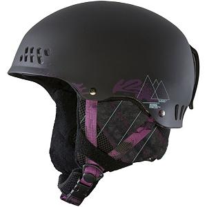 Snowboard K2 Emphasis Womens Audio Helmet - The new K2 Emphasis defiantly has an emphasis on style with its sleek look. The Active Matrix Venting system can keep your temperature regulated very easily with the simple flip of a switch. The K2 Dialed fit system will make sure that your lid stays in place, and fits properly. If you are looking for a simple no nonsense helmet that will keep you safe and comfortable the Emphasis is it. Features: Removable Bandana, Sm(51-55cm)Med(55-59cm)L/XL(59-62cm). Certifications: ASTM/CE, Warranty: One Year, Gender: Womens, Special Features: Level 2 Baseline Audio System, Race: No, Category: Half Shell, Audio: Comes With, Brim/Visor: No, Ventilation: Adjustable, Custom Fit Adjustment: Yes, Year Round Capable: No, Shell Construction: Hard Shell, Model Year: 2013, Product ID: 274400, Shipping Restriction: This item is not available for shipment outside of the United States. - $69.95