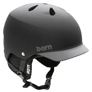 Snowboard Bern Watts Audio Hard Hat - The Bern Watts Audio Hard Hat is made for the adventurer who wants to add their own music to their journey. Designed with 8tracks Audio, you'll be able to listen to your own playlist as you're shredding the mountain or slaying in the park. The hard hat is designed with Brock Impact Foam which is a soft, breathable porous closed cell foam that will allow air and moisture to circulate so you can stay dry and comfortable. If you end up taking a spill, this hard hat is made to protection against multiple low impact hits. You'll be able to adjust the knit in order to customize your fit so that you never have to go without comfortable head protection when you wear the Bern Watts Audio Hard Hat. . Certifications: N/A, Warranty: One Year, Gender: Mens, Race: No, Category: Half Shell, Audio: Comes With, Brim/Visor: Yes, Ventilation: Fixed, Custom Fit Adjustment: Yes, Year Round Capable: Yes, Shell Construction: Hard Shell, Model Year: 2013, Product ID: 281454 - $83.94
