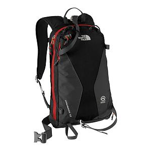 Ski The North Face Chugach 12 Backpack 2013 - The North Face Chugach 12 Backpack is ideal for sidecountry skiing or short out-of-bounds treks on your board. With a slew of features such as a huge front pocket that you can store all the essentials you need from extra layers to snacks you'll be able to carry everything you need on your next adventure. An insulated shoulder harness hydration sleeve lets you keep water on hand for when you need a drink and don't want to meet a bag full of ice. This durable pack easily stores all the necessary gear you'll need for the day, and space for whatever else you need to bring to 12,000 feet. If you're doing some hiking, you'll be glad that the North Face Chugach 12 Backpack comes with a tuck-away ski/board carry. Features: Reinforced, high abrasion zones on pack face, Insulated shoulder harness hydration sleeve. Goggle/Sunglasses Pocket: No, Category: Backpacks, Ski/Snowboard Carry: Ski and Snowbaord, Waist Strap: Yes, Hydration Compatible: Yes, Use: Snow, Number of Pockets: 2, Material: Bombastic Auto-Airbag Fabric, Exterior Pockets: Yes, Gear Volume: 12L, Snowboard Carry: Vertical, Laptop Sleeve: No, Sunglass Pocket: No, Recommended Backpack Use: Snow, Model Year: 2013, Product ID: 231166, Shipping Restriction: This item is not available for shipment outside of the United States. - $109.00