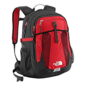 Ski The North Face Recon 29 Backpack - As a day pack, The North Face Recon Backpack is built with a large main zipper pocket that includes a 15 inch laptop sleeve and a secondary compartment with organization. This backpack features injection-molded shoulder straps and an Airmesh back panel for extra spine support. You'll have a large main compartment, a secondary compartment and a front mesh drop pocket providing you with plenty of places to carry what you need to bring along. For convenience, you'll have a mesh side water bottle pocket too. The North Face Recon day pack makes it easier to carry your personal payload so you can experience your travels with ease and convenience. Features: Secondary compartment with organization, Small front panel stash pocket. Warranty: One Year, Goggle/Sunglasses Pocket: No, Category: Backpacks, Ski/Snowboard Carry: None, Waist Strap: No, Hydration Compatible: No, Use: Casual, Material: 420D Nylon, 600D Polyester, 300D Mini-Ripstop, 1680D Ballistics Nylon, Weight of Bag: 2.9 lbs, Exterior Pockets: Yes, Padded Inside: None, Size Dimensions: 19in x 13in x 7.5in, ID Tag: No, Gear Volume: 29L, Laptop Sleeve: Yes, Laptop Size: 14in, Model Year: 2014, Product ID: 280673, Shipping Restriction: This item is not available for shipment outside of the United States., Model Number: A92X65J-OS, GTIN: 0053329800271 - $74.95