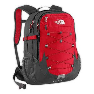 Ski The North Face Borealis Backpack - The North Face Borealis Backpack is free of embellishment, this sleek daypack boasts two large zip pockets so you can stash gear quickly and hit the road. The main compartment features a padded laptop sleeve, fits most 15 inch laptops, and an almost equally large secondary zip pocket with built-in organizational sleeves. Bungee cord on face of pack lets you store additional gear, or cinch down contents inside. Updated shoulder straps and back panel. Features: Large main compartment with padded laptop sleeve and hydration clip/port, Secondary compartment with organization, Front stash pocket, Mesh side water bottle pockets. Goggle Pocket: No, Category: Backpacks, Ski Carry: No, Waist Strap: No, Hydration Compatible: No, Recommended Backpack Use: Daypack, Model Year: 2013, Product ID: 280680, Shipping Restriction: This item is not available for shipment outside of the United States. - $89.00
