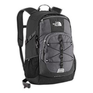 Ski The North Face Heckler Backpack 2013 - The North Face Heckler Backpack is designed with three compartments, this daypack offers a large main compartment that fits most 15 inch laptops, a smaller secondary compartment with dividers and a front compartment that can stash your tunes. It's hard to function without music, having the jams of your choice can ease any activity. Stitched foam back panel and shoulder straps foster comfortable toting, and a crisscross bungee cord on pack's face lets you stash a raincoat, or trail map with easy on-the-go access. Features: FlexVent injection-molded shoulder straps. Goggle/Sunglasses Pocket: No, Ski/Snowboard Carry: None, Waist Strap: Yes, Hydration Compatible: Yes, Use: Casual, Exterior Pockets: Yes, Laptop Sleeve: Yes, Laptop Size: 15 inches, Model Year: 2013, Product ID: 280686, Shipping Restriction: This item is not available for shipment outside of the United States., Recommended Backpack Use: Daypack, Category: Backpacks - $95.00