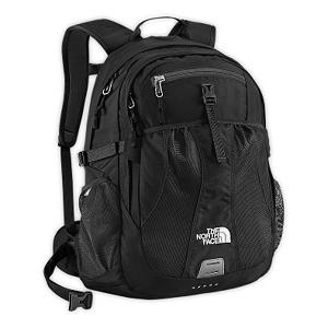 Ski The North Face Recon 28 Womens Backpack - The North Face Recon Backback is a coveted daypackthat efficiently holds all your gear and keeps you organized whether you're using it to store goods that make you smarter, or stronger. Available in a variety of colors, this nylon pack is lightweight and durable for everyday use. Pack features one large main zip pocket with a laptop sleeve that fits most 15 inch laptops with hydration port exit to keep your thirst in check on your journey. The updated shoulder straps and back panel fits your silloquett in personal comfort. Features: Mesh side water bottle pockets. Warranty: One Year, Goggle/Sunglasses Pocket: No, Category: Backpacks, Ski/Snowboard Carry: None, Waist Strap: No, Hydration Compatible: Yes, Use: Casual, Material: 420D Nylon, 600D Polyester Print, 300D Mini-Ripstop, 1680D Ballistics Nylon, Weight of Bag: 2.6 lbs, Exterior Pockets: Yes, Padded Inside: None, Size Dimensions: 19in x 13in x 11in, ID Tag: No, Gear Volume: 28L, Laptop Sleeve: Yes, Laptop Size: 15in, Model Year: 2014, Product ID: 280698, Shipping Restriction: This item is not available for shipment outside of the United States., Model Number: A93EJK3-OS, GTIN: 0053329799179 - $74.95