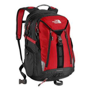 Ski The North Face Surge Backpack 2013 - The North Face Surge Backpack is a durable, full-featured daypack that has a dedicated laptop pocket, fits most 15 inch laptops to keep you going strong whether you're hard at work or hardly working. Large main compartment stores and carries a days worth of essentials. Step out and keep it organized with the front electronics pocket, large main compartment, secondary compartment with organization pocket and stretch woven side water bottle pockets - when leaving home, bring along your needs - where ever you are, your'e good to go. Features: Zippered, dedicated, padded laptop compartment, Zippered, padded bottom power-cord pocket. Goggle Pocket: No, Category: Backpacks, Ski Carry: No, Waist Strap: No, Hydration Compatible: No, Model Year: 2013, Product ID: 280722, Shipping Restriction: This item is not available for shipment outside of the United States. - $125.00