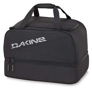 Ski Dakine Boot Locker Ski Boot Bag 2013 - The Dakine Boot Locker is a simple and effective way to transport your boots. Made up of a 600D Polyester the Boot Locker is highly durable and will last you for years to come. A tarp lined boot compartment also doubles as a changing mat. Comes in a split level design which allows for easy access to your boots. The Boot Locker from Dakine is easy and comfortable to lug around with a padded shoulder strap. . Category: Boot Bags, Material: 600D Polyester, Size Dimensions: 20x15x14in, ID Tag: No, Side Pocket: No, Gear Volume: 69L, Backpack Straps: No, Helmet Storage: Yes, Model Year: 2013, Product ID: 245263 - $60.00