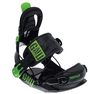 Snowboard Gnu Gnunior Kids Snowboard Bindings - The GNU Gnunior junior binding is the definition if what a junior snowboard binding should be. The speed and simplicity of Fastec is the perfect for the Gnu Junior. Smooth footbed sheds snow. Flip down the oversize highback lever and the ankle strap magically opens. Quick release tool less adjustment gets you and your grom on the hill fast with no hassles. . Recommended Use: All-Mountain Freestyle, Strap Material: Single Panel Ankle Strap, Flex: Soft, HighBack: Youth Highback, Buckles: Micro, Toe Strap Style: Cap, Warranty: One Year, Quick Entry: Yes, Canted Footbed: No, ICS Channel Compatible: No, Traditional Burton (3D) Compatible: No, Standard 4 Hole Compatible: Yes, Chassis Material: Composite, Binding Compatibility: Standard 4 Hole, Skill Range: Intermediate - Advanced, Model Year: 2013, Product ID: 270961, Shipping Restriction: This item is not available for shipment outside of the United States., Gender: Kids, Skill Level: Intermediate - $79.99