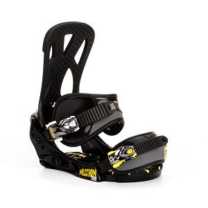Snowboard Burton Mission Smalls Kids Snowboard Bindings - The Burton Mission is a legendary binding and the Smalls version is no different. The Single-Component baseplate is made from 30% short-glass/nylon composite for durability. The Single-Component canted Living Hinge Team Skyback II provides responsive fun so your grom can get rad. Asym Luxstrap conforms to your grom's boot while the Primo Capstrap hugs their toebox comfortably. Smooth Glide buckles ratchet fast and release like butter. EVA baseplate cushioning provides dampening gives your grom a comfy landing pad to stomp some airs on. This is big boy performance in a little warrior's package. The Burton Mission Smalls is going to help your grom handle the situation. . Recommended Use: All-Mountain Freestyle, Strap Material: Asym Luxstrap, Flex: Medium, HighBack: Single-Component Canted Highback, Buckles: Aluminum, Toe Strap Style: Cap, Warranty: One Year, Quick Entry: No, Canted Footbed: No, ICS Channel Compatible: No, Traditional Burton (3D) Compatible: Yes, Standard 4 Hole Compatible: Yes, Chassis Material: Composite, Binding Compatibility: Standard 4 Hole and Burton 3D, Skill Range: Beginner - Advanced Intermediate, Model Year: 2013, Product ID: 271787, Shipping Restriction: This item is not available for shipment outside of the United States., Gender: Kids, Skill Level: Beginner - $79.96