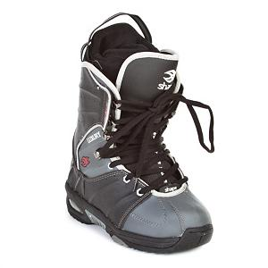 Snowboard Black Dragon Shape Luxury Kids Snowboard Boots - The Black Dragon Shape Luxury Boys Snowboard boots are a soft flexing beginner boot for the kid looking to start shredding. They feature a removable liner that will provide your little one with a better fit and warmth to keep their little toes toasty warm. The Shape Luxury from Black Dragon is a cheaper way to get your little one started in snowboarding. . Bearing Grade: Performance, Flex: Soft, Warranty: One Year, Skill Range: Beginner - Intermediate, Product ID: 239918, Gender: Kids, Skill Level: Beginner, Model Number: SHAPE-LUXURY BKGY 38, Brand Lacing Style: Traditional Lacing, Intuition Liner: No, Removable Liner: Yes, Recommended Use: All-Mountain, Lacing Style: Traditional Lace - $29.94