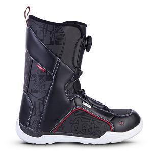 Snowboard Ride Spark Boa Kids Snowboard Boots - The Spark Boa is built for the up and coming ripper. This boot offers long life durability and the Boa lacing system. The Boa system is the most user-friendly in and out of a boot around. No parents help needed here, this boot is so easy kids can get it on and off themselves. It has a great fit and is easy to use, allowing parent and child alike to enjoy their day at the hill. . Material: Aegis Liner, Lacing Style: Boa, Recommended Use: All-Mountain Freestyle, Removable Liner: No, Flex: Medium, Warranty: One Year, Intuition Liner: No, Brand Lacing Style: Kids Boa Lacing System, Skill Range: Intermediate - Advanced, Model Year: 2013, Product ID: 281159, Shipping Restriction: This item is not available for shipment outside of the United States., Gender: Kids, Skill Level: Intermediate - $79.95