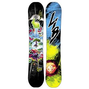 Snowboard Lib Tech T.Ripper C2BTX Boys Snowboard - What do you get when you take the T.Rice Pro model and a grom? You get the T.Ripper C2BTX kids board. The T.Ripper is probably the most versatile grom snowboards on the market today. Its everything the T.Rice Pro is just down sized for smaller rippers. The reason for all the versatility is C2 Power Banana/Camber Combo Tech and Magne-Traction is the backbone for this snowboard. C2BTX is rocker between your feet blended with a radial camber to contact points. Focuses pressure between your feet for easy turns, great edge hold on ice and a solid amount of pressure to the tip and tails for power end-to-end stability, pop and maximum control. Factory de-tuned to for your hard charging rippers, bordercross competitors, or just all mountain slayers. The T.Ripper can travel anywhere and rip on anything it touches. . Actual Turn Radius @ Specified Length: 7.6m(@141cm), Base Name: Sintered Base, Core Name: H-Pop Core, Recommended Use: All-Mountain Freestyle, Waist Width: 234mm(@141cm), Stance Width: 18-24in, Stance Setback: Centered, Special Features: Blunt Shape Tip and Tail, Rocker Profile: Rocker with Camber, Shape: Twin, Flex: Medium, Pipe Oriented: Yes, Board Width: Regular, Rocker Type: C2BTX, Core Material: Wood, Construction Type: Sidewall Construction, Hole Pattern: Standard 4 Hole, Magnatraction: Yes, Base Material: Sintered P-tex, Warranty: One Year, Skill Range: Advanced Intermediate - Expert, Model Year: 2013, Product ID: 271000, Shipping Restriction: This item is not available for shipment outside of the United States., Gender: Boys, Skill Level: Advanced Intermediate - $299.99